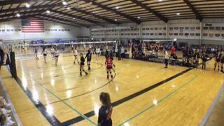 Things end all tied up between W Revolution 15 Mizuno (LS) and AsicsWillowbrook15Black (LS)