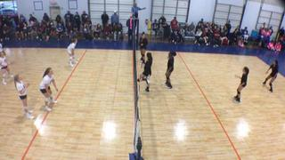 Things end all tied up between TAV Houston 11 Black (LS) and AsicsWillowbrook12Gold (LS)