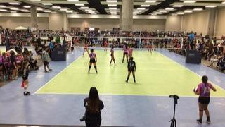 Things end all tied up between JAMMERS Hawaii 12 Black and SAS Girls 12s