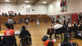 Global Basketball triumphant over NorCal Power (Orange), 66-23