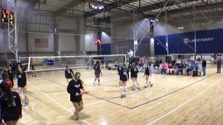 Lanier 15-1 Mary Beth (SO) defeats Volley One 15-1 Lindsey (SO), 2-1