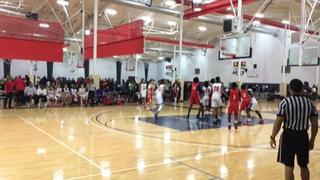 Shooting Stars Red defeats Hou Hoops Red, 67-23