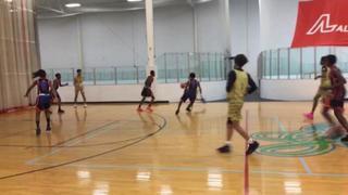 Shine Hoop Grinders 66 Toronto Nustep Ballers Gold 48