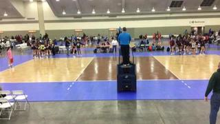 AVC CLE Rox 18N Meredith (OV) (4) defeats RVC 18 Nationals (OD) (12), 3-0