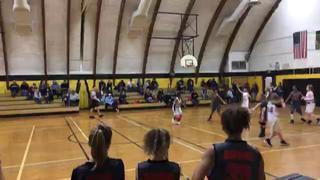 Sansos 11U Girls getting it done in win over Court Soldiers 11U Girls - Ashley, 35-8