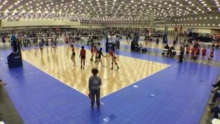 TAV 18 Blue (NT) (1) defeats CJVA 18 Black (GE) (24), 2-0