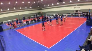 VA Juniors 18 Elite (CH) (3) defeats Club Integrity 18U (KE) (22), 2-0