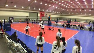 It's a wash between Panhandle Boomers 18U (CH) (39) and BEV 18 Elite (GE) (57), 1-1