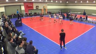 SPARKS VBC 18 ELITE (KE) (38) wins 1-0 over Metro 18 North (CH) (6)