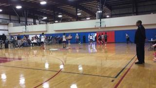 TX Legion Elite 16u with a win over Shooting Stars Red 16u, 75-43