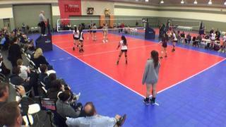 WVC 18 National (OD) (12) defeats NVVA 17 Select (CH) (28), 2-0