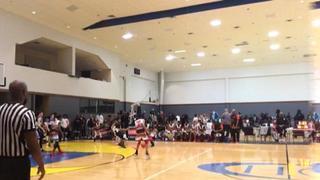 Cy Fair Kings 12u with a win over Texas Heat, 45-31