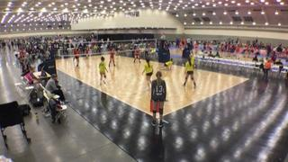 Downstate 18 Black (GE) (31) victorious over LEVBC U18 (CH) (17), 1-0