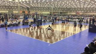EC Power 18-Royal (KE) (10) defeats Paramount VBC 18's (CH) (5), 2-0