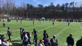 Carolina Stars Black Black with a win over ESA Flight Charlie, 28-21
