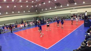 SPARKS VBC 18 ELITE (KE) (38) wins 2-0 over Ballyhoo 18 Black (KE) (21)