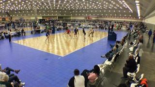 Things end all tied up between TAV 18 Blue (NT) (1) and ECVC Hurricanes 18-1 (OD) (14)