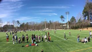 Hotbedworld 7v7 Club ATL emerges victorious in matchup against YPL Atlanta 15u, 14-7