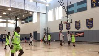 Hou Nets 12u gets the victory over Port Arthur Titans, 41-30