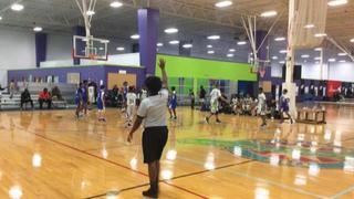Gwinett Hawks puts down Advanced 2 Athletics (Blue) with the 66-48 victory