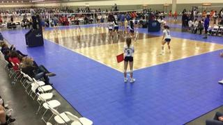 Things end all tied up between RVC 18 Nationals (OD) (12) and Grit 18 Gold (CH) (16)