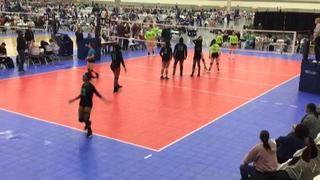 Surge 18 Black (KE) (49) with a win over SOMD 18 Gray (CH) (50), 1-0