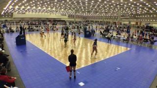 WACO Jrs Avalanche (CH) (38) defeats AVVC 18 Red (GE) (37), 2-1