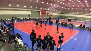 Things end all tied up between CALI 18 Black (GE) (24) and BEACH ELITE 18R ADIDAS (OD) (40)