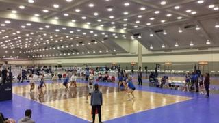 RVC 18 Nationals (OD) (12) defeats ACAD 18 Red (GE) (7), 3-0