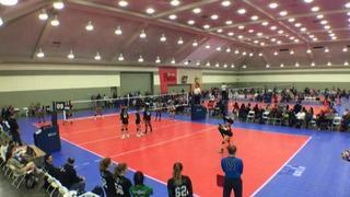 CHVBC 18 Black (GE) (44) wins 2-0 over Premier 18 Black (CR) (19)