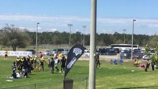 True Buzz gets the victory over Missing Element 7on7, 28-6