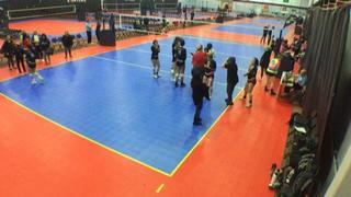 Things end all tied up between RAGE VBC 15 Kimmy (NC) and Delta Valley 15-1 (NC), 1-1