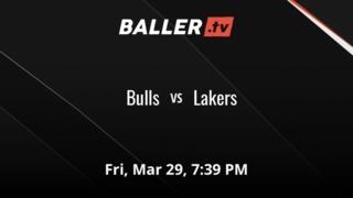Bulls vs Lakers