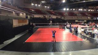Atlanta Elite Volleyball University 14-1 2 Top Select 14 Gold Lake 0
