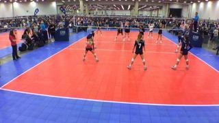 Things end all tied up between TAV Houston 14 Blue (LS) and AJV 14 Red (LS)