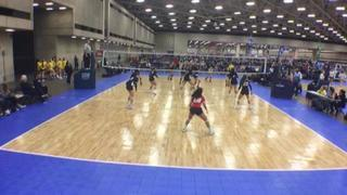 NRG VBC 14 AMPD defeats Laredo Premier - 14 Force, 2-0