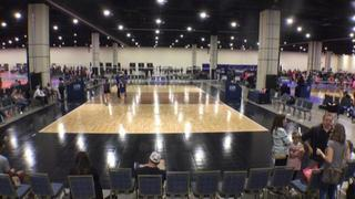 Things end all tied up between Grit 14 Gold (CH) and AVC CLE Rox 14N Erick (OV)