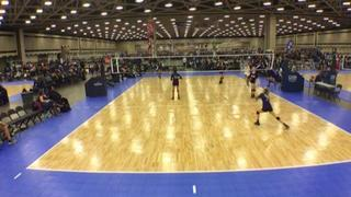 FW Fire 14 Grey (NT) with a win over NRG VBC 14 Blue (NT), 1-0