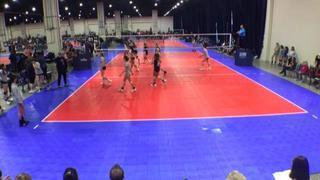 Things end all tied up between NVA 14 Black (KE) and American 14-1 (CH)