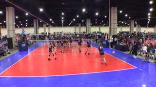 It's a wash between The St. James 14 Navy (CH) and OCTANE PANTHERS 14U (WE)