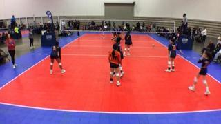 Things end all tied up between HJV 13 Elite - S (LS) and TAV Mansfield 13 Markayla (NT)
