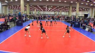 Things end all tied up between Houston Hazard 14 Black (LS) and EXCEL 14 National Blue (NT)