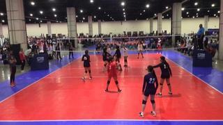 No Panic 14 Sarah (CH) wins 2-0 over ASEVC 14 National Blue (GE)