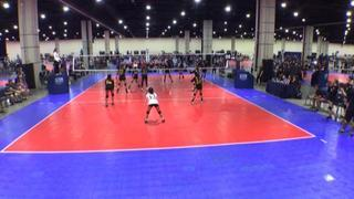 Monument Volleyball 14-1 (CH) 2 MOJO Elite 14 Fire (CH) 1