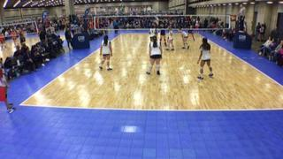 Things end all tied up between Cove Juniors 14-1 (LS) and TX LEGACY - 14 BLACK (LS)