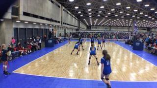 Texas Titans 13 Elite (NT) wins 2-0 over 501 Volley 13 Purple (DE)
