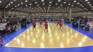 Heroes 142 (LS) wins 2-1 over WACO VBC 14 UA Red (LS)