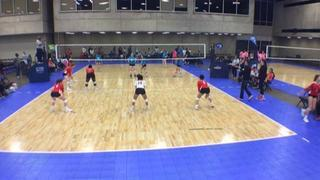 Things end all tied up between Drive Nation 14 Elite (NT) and W Revolution 14 Molten-KW (LS)