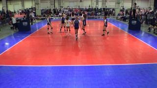 VolleyFX 14 Conjure (WE) wins 2-0 over American 14-1 (CH)