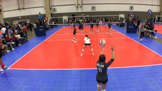 EXCEL 13 National White (NT) wins 4-0 over NRG VBC 13 AMPD (NT)